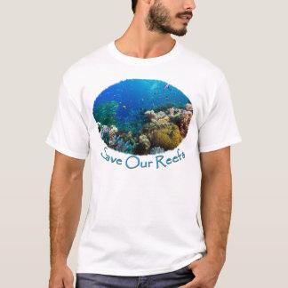 T-shirt Sauvez notre mer de corail de la Grande barrière