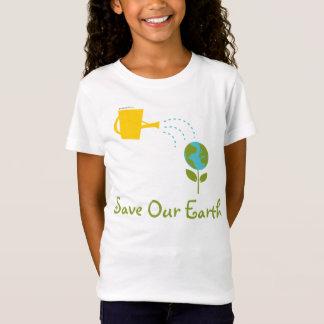 T-Shirt Sauvez notre tee - shirt d'enfants de la terre