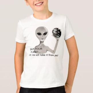 T-shirt Sauvez votre planète