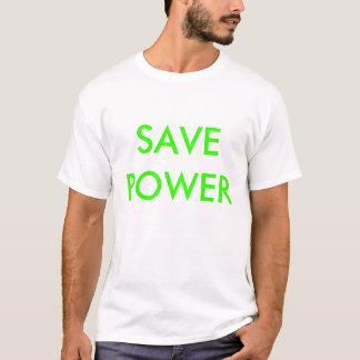 T-SHIRT SAVEPOWER