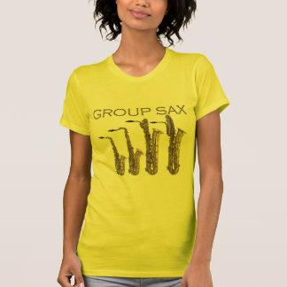 T-shirt Saxo de groupe