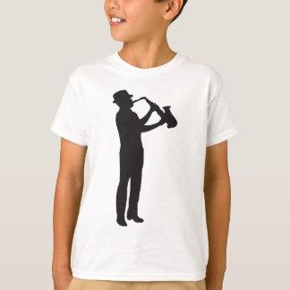 T-shirt saxophon