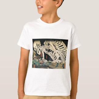 T-shirt Sceleton par Utagawa Kuniyoshi