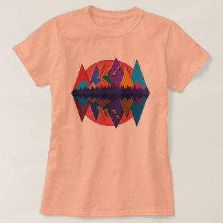 T-shirt Scène #8 de montagne