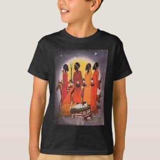T-shirt Scène africaine de nativité de Noël
