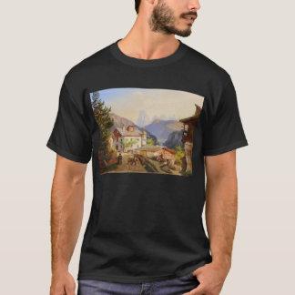 T-shirt Scène de village de St Peter Josef Arnold le plus