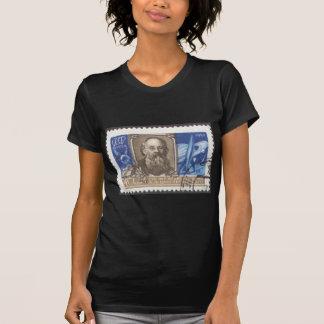 T-shirt Scientifique de Russe de Konstantin Tsiolkovsky