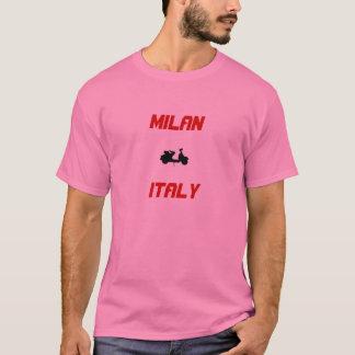 T-shirt Scooter de Milan, Italie