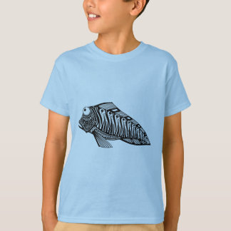 T-shirt Scooter les poissons