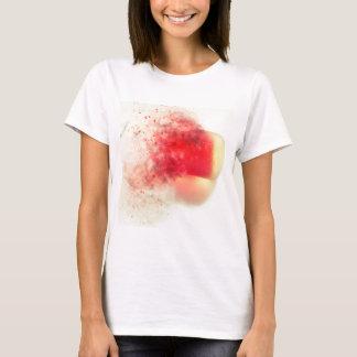 """T-shirt Seaham Seaglass """"peu de balle rouge"""" éclatant"""