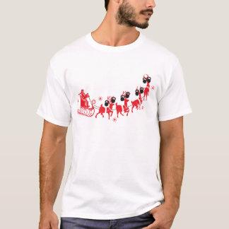 T-shirt Séance d'entraînement de Kettlebell de renne