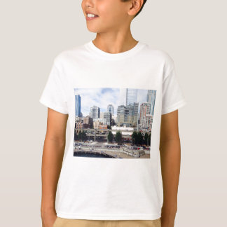 T-shirt Seattle du centre