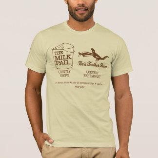 T-shirt Seau de lait - ferme de plume de Fin'n, Dundee,