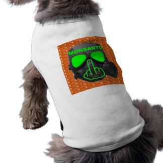 T-shirt Secousse de masque de gaz de Monsanto