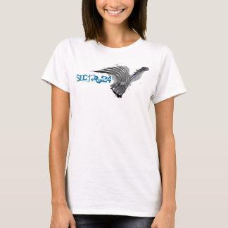 T-shirt SECTR 24 - La pièce en t bon marché des femmes