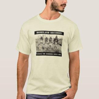T-shirt SÉCURITÉ de PATRIE gardant les frontières depuis