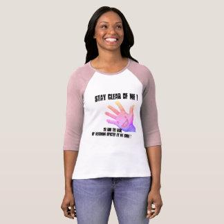 T-shirt Séjour dégagé de moi