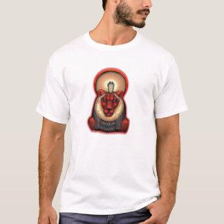 T-shirt Sekhmet unisexe T foncé, le coton organique 2 a