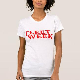 T-shirt Semaine de flotte