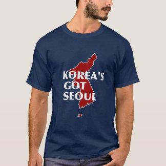 T-shirt Séoul passé de la Corée