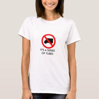 T-shirt Série de tubes - Internet