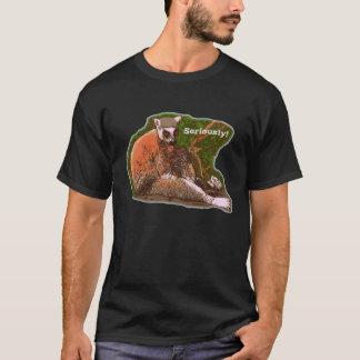 T-shirt Sérieusement lémur