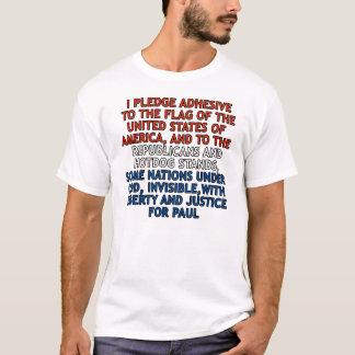 T-shirt Serment de fidélité drôle