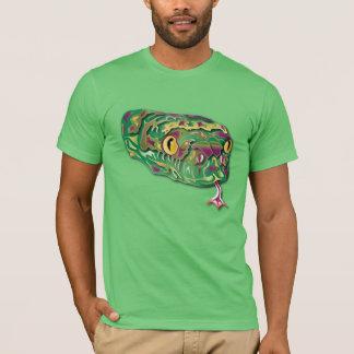T-shirt Serpent coloré
