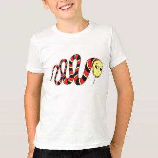 T-shirt Serpent glissant