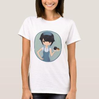 T-shirt serveuse
