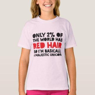 T-shirt Seulement 2% du monde a la licorne majestueuse de