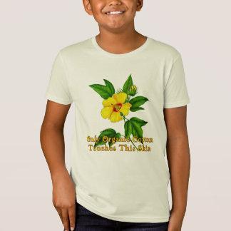 T-Shirt Seulement le coton organique touche cette peau