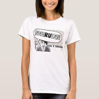 """T-shirt """"SEZRULES pour les tee - shirts comiques d'une"""
