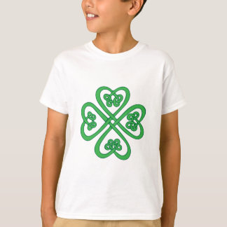 T-shirt Shamrock celtique