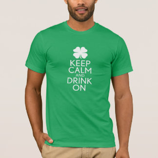T-shirt Shamrock de Jour de la Saint Patrick - gardez la