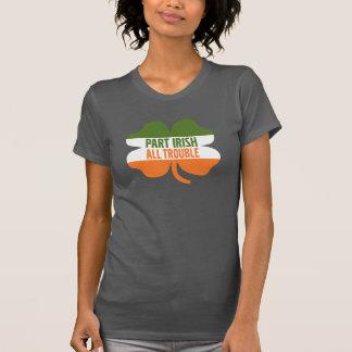 T-shirt Shamrock de Jour de la Saint Patrick - Irlandais
