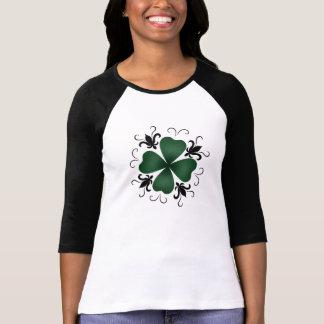 T-shirt Shamrock victorien de fantaisie