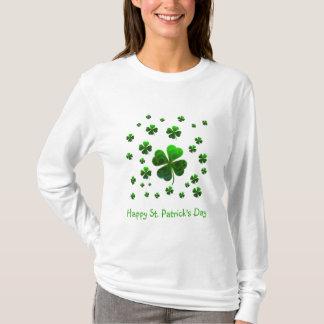 T-shirt Shamrocks chanceux verts