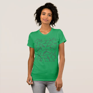 T-shirt Shamrocks du jour de Patrick de saint