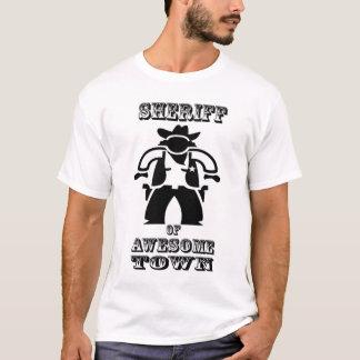 T-shirt Shérif d'Awesometown (grande image)