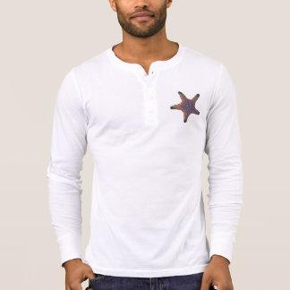 T-shirt Shérif d'étoiles de mer - orange