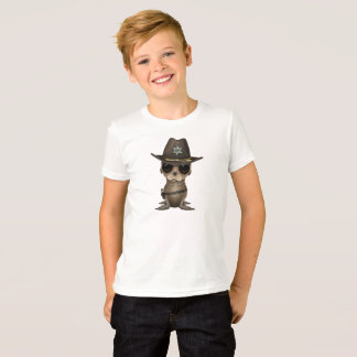 T-shirt Shérif mignon d'otarie de bébé