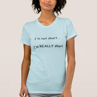 T-shirt Short et plus court