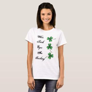 T-shirt Si irlandais les yeux sourient
