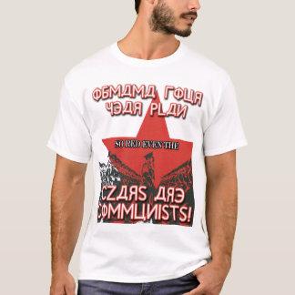 T-shirt Si rouge les tsars sont des communistes