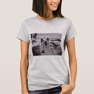 T-shirt siamois des femmes Cat_1