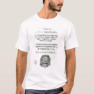 T-shirt 'Siècles et Propheties de Les Vrayes