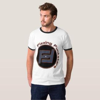 T-shirt Siffler le logo de disque de bluestone de