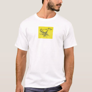 T-shirt Sighthound chassant T