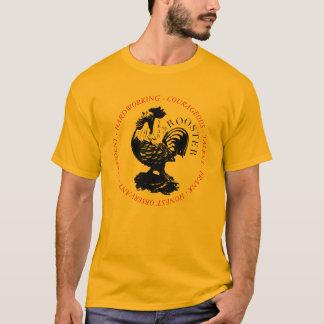 T-shirt Signe chinois L chemise de zodiaque de coq de